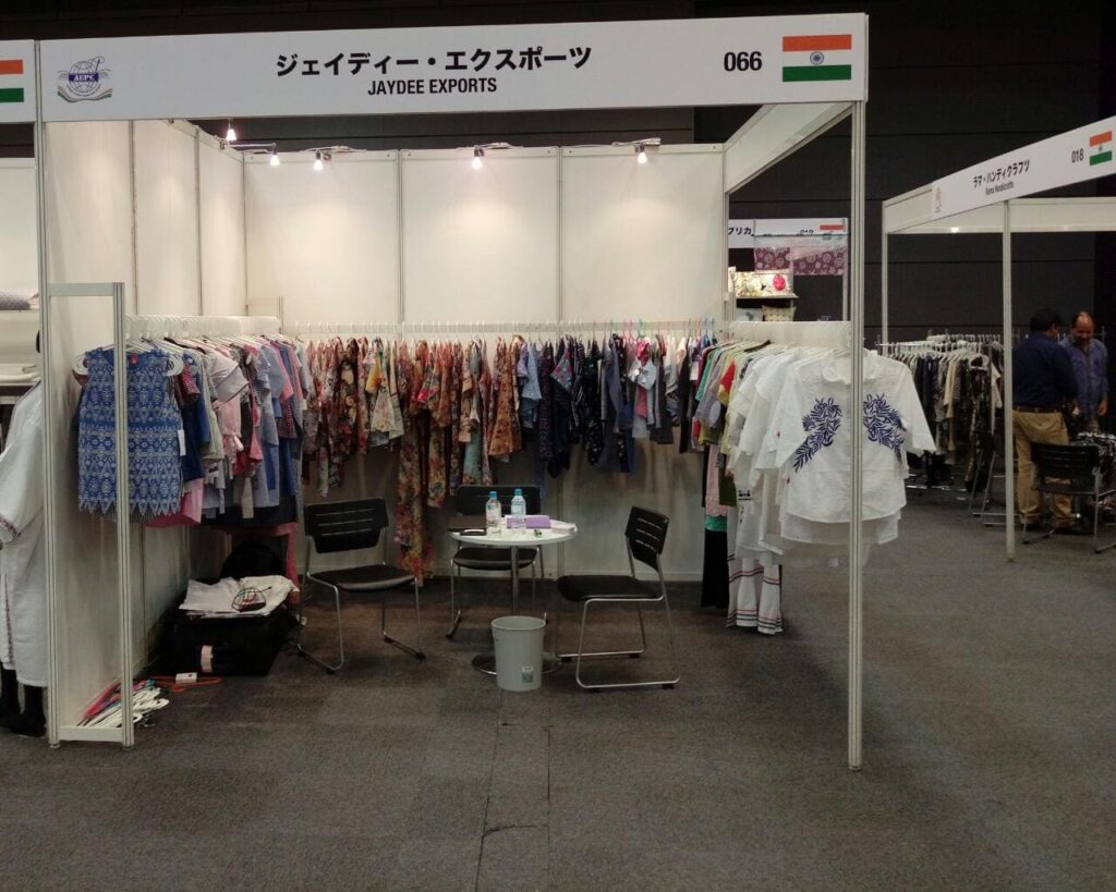 Ja Dee Exports Japan Trade Show