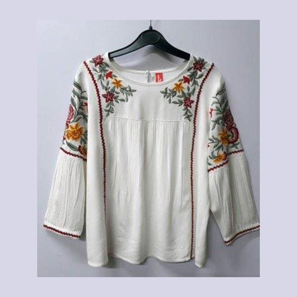Ladies Top Embroidery