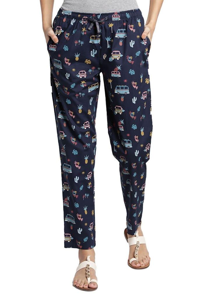 Womens Lounge Pants Printed Jay Dee Exports PRT 180