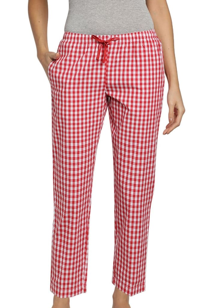 Womens Lounge Pants Check Jay Dee Exports LP 162