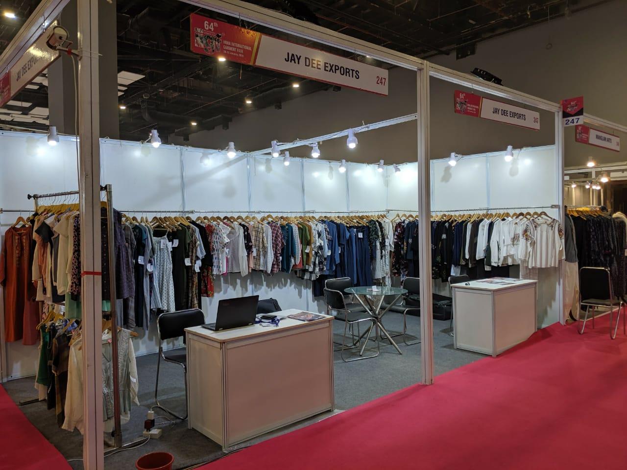 Jaydee Exports IIGF Trade Show Exhibition Delhi India